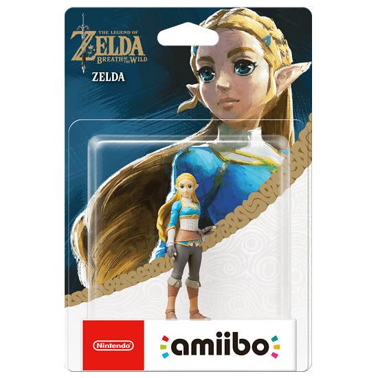 [哈GAME族]免運費 可刷卡 任天堂 amiibo 公仔 薩爾達傳說《薩爾達》適用 Switch NS WiiU 3DS