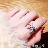 戒指旋轉雪花冷淡風戒指女日韓潮人學生夸張尾戒個性時來運轉網紅食指  嬌糖小屋