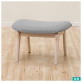 ◎實木餐椅凳 RELAX WW/GY 橡膠木 NITORI宜得利家居