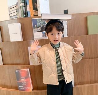 男童外套 冬裝2021新款兒童棉服加厚小童棉衣春夾棉童裝寶寶棉襖【快速出貨八折搶購】