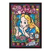 TENYO迪士尼拼圖  PA 266P(透明小片)彩绘玻璃-艾莉絲_TP85750