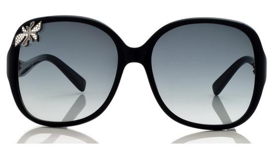Swarovski-時尚太陽眼鏡 (黑色)
