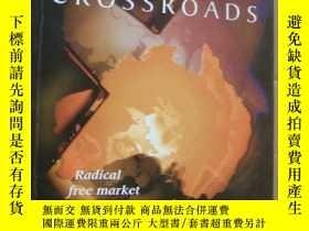 二手書博民逛書店AUSTRALIA罕見AT THE CROSSROADS: Radical free market or a pr