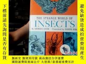 二手書博民逛書店THE罕見STRANGE WORLD OF INSECTS189