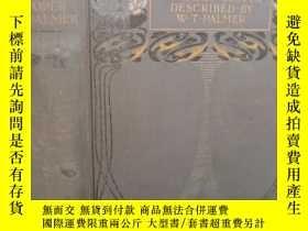 二手書博民逛書店1905年罕見THE ENGLISH LAKES PAINTED 《英國湖泊》 含75副水彩插圖 上書口刷金Y