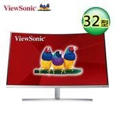 【ViewSonic 優派】32吋VA曲面螢幕(VX3216-SCMH)【送收納購物袋】