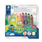 ˙3合一彩色蠟鉛筆,結合蠟筆、色鉛筆、水彩特性於同一支筆上 ˙可用水彩筆沾水,塗...