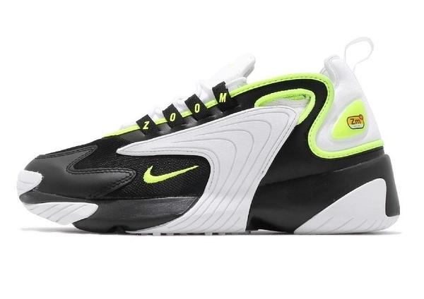 NIKE系列- ZOOM 2K 男款黑綠慢跑運動鞋-NO.AO0269004