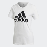 Adidas 女款白LOGO 短袖上衣-NO.FQ3238