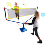 玩具反斗城 STATS 可攜式羽毛球網架組