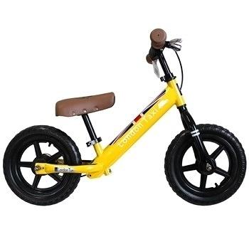 【英國 London Taxi KickBike】幼兒平衡滑步車-黃