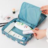 手拿收納袋韓式簡約便攜化妝包大容量小號防水旅行隨身洗漱品手提