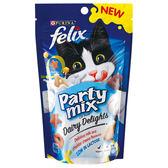 【寵物王國】Felix日本菲力貓 貓脆餅-牛奶巧達起司風味(奶香派對)60g