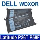 DELL WDX0R WDXOR . 電池 P26T,P58F,P61F,P62F,P66F,P69G,P75F,P75G,3CRH3,T2JX4