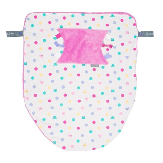 Cheeky Chompers Cheeky Blanket 袋鼠搓搓被/防風毯/冷氣毯 彩虹泡泡/送禮(附提袋)