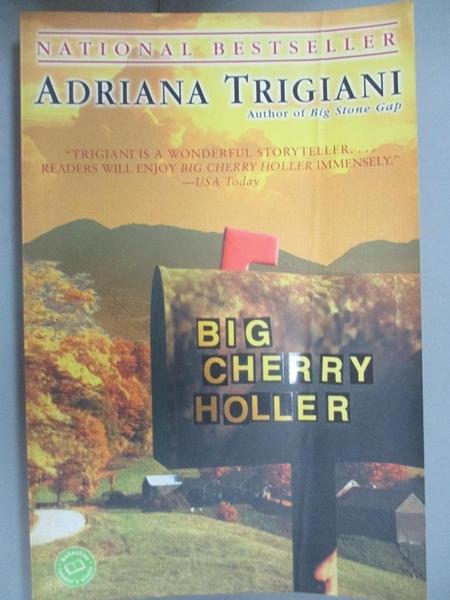 【書寶二手書T2/原文小說_GQN】Big Cherry Holler_Trigiani, Adriana
