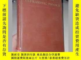 二手書博民逛書店E.G.RICHARDSON罕見ULTRASONIC PHYSI
