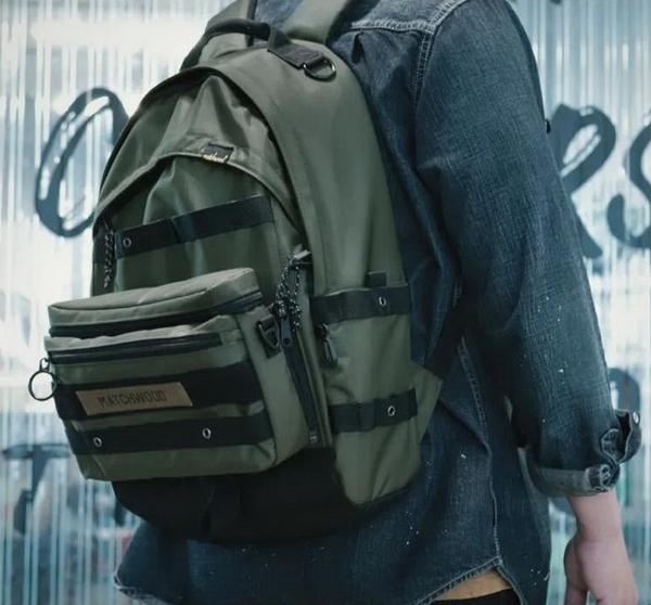 Matchwood Clutch 3WAY 軍事多功能後背包 基本防潑水 筆電夾層-3色