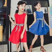 女童連衣裙夏裝正韓小女孩夏季洋氣裙子兒童公主裙童裝潮 森雅誠品