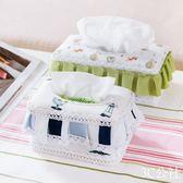 紙巾抽創意紙巾盒布藝紙巾收納盒 歐式客廳抽紙盒餐巾紙盒紙抽盒 3C公社