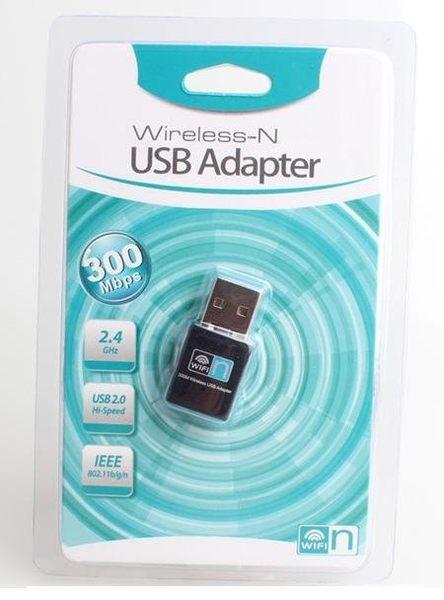 [哈GAME族] RTL8192晶片 迷你型USB 300M Mini USB 無線網卡 電腦電視網卡 WIFI發射接收器