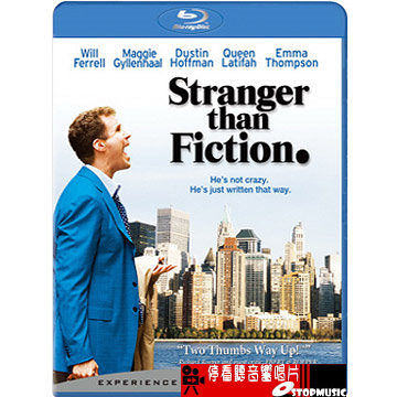 【停看聽音響唱片】【BD】口白人生 Stranger than Fiction