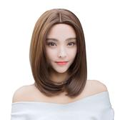 整頂假髮(中長髮)-中分內彎齊肩長髮女假髮73vs106【巴黎精品】