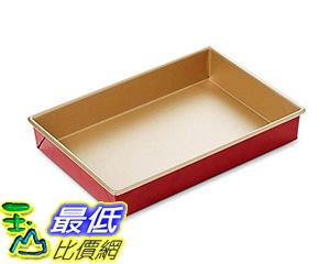 [美國直購] Williams-Sonoma Red Goldtouch Nonstick Rectangular Cake Pan 烤盤