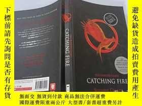二手書博民逛書店The罕見Hunger Games:Catching Fire 饑餓遊戲:生火Y200392