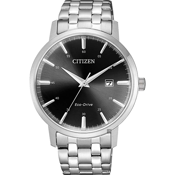 CITIZEN 星辰 光動能簡約手錶-40mm BM7460-88E