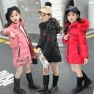 女童冬裝4中長款5棉衣3-10歲兒童6加厚羽絨棉服7小女孩8洋氣9外套 8號店