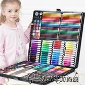 快速出貨 兒童畫畫套裝水彩筆女孩幼兒園工具繪畫筆禮盒小學生美術學習用品