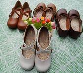 娃娃鞋日繫娃娃鞋學生演出小皮鞋森女繫搭扣小清新平底可愛圓頭女鞋 【時尚新品】