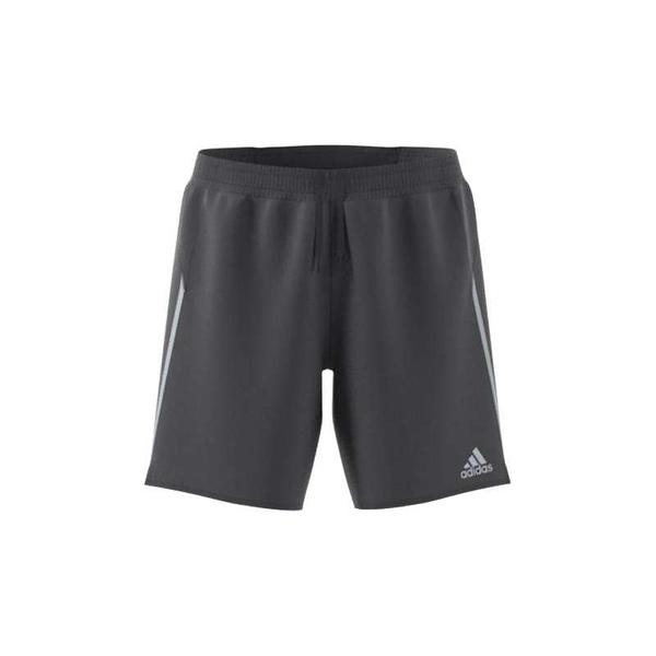 Adidas SATURDAY SHORT 男款灰色運動短褲-NO.GJ9877