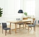 【歐雅系統家具】北歐幸運布餐椅-淺灰 / 北歐風 / 現成家具 / 椅子 / 多色選擇 / 歐洲沙發專用