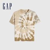 Gap男童 純棉紮染圓領短袖T恤 683875-紮染