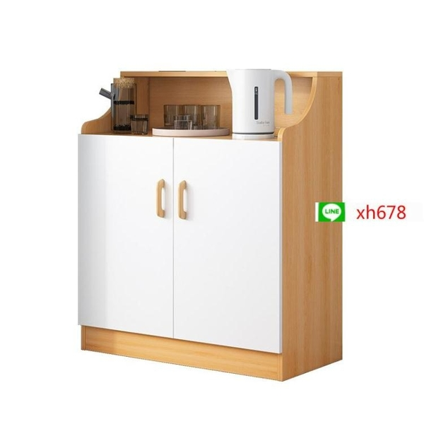 蔓斯菲爾餐邊櫃家用儲物櫃多功能茶水櫃碗櫃經濟型大容量省收納櫃【頁面價格是訂金價格】