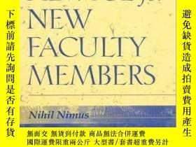 二手書博民逛書店Advice罕見For New Faculty Members-對新教員的建議Y436638 Robert B