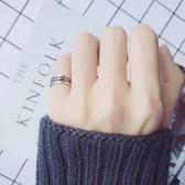 愛洛奇 s925銀戒指女復古泰銀麻花開口指環民族風時尚尾戒子飾品全館免運