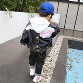兒童牛仔外套男童牛仔外套秋裝新款韓版兒童中大童秋季男寶寶小童洋氣潮衣伊芙莎