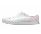 NATIVE JEFFERSON 男女款白粉色休閒洞洞鞋-NO.11100102-8740