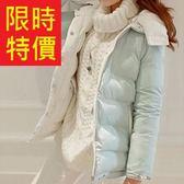 羽絨夾克-韓風焦點氣質保暖女外套3色61aa287【巴黎精品】