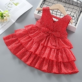 吊帶裙 寶寶夏裝洋裝新款小女孩雪紡裙兒童蛋糕裙洋氣女童夏季裙子