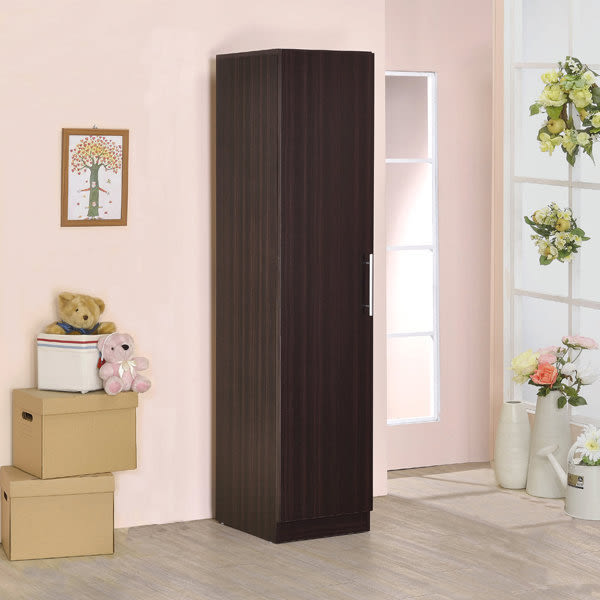 ONE HOUSE-DIY家具-單門衣櫃/收納櫃/衣櫃/書櫃/三色可選