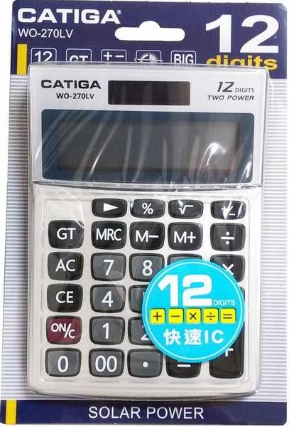 CATIGA  12位數計算機