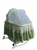 [家事達] Mother's Love  三段可調式搖椅、搖床  -綠色~~ 特價