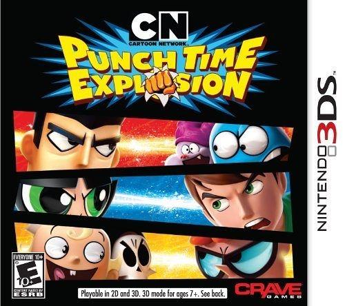 3DS Cartoon Network: Punch Time Explosion 卡通頻道:衝擊時間(美版代購)