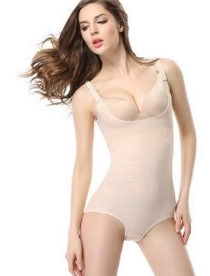 薄款加強型產後束身衣連體四季薄款重壓型收腹衣-ziy0120