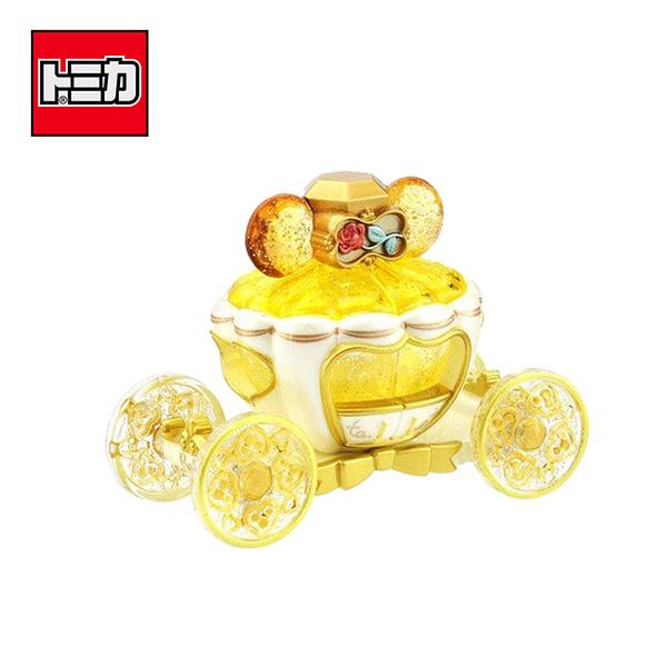 【日本正版】TOMICA 夢幻珠寶小汽車 貝兒公主 夢幻南瓜馬車 Disney Motors 多美小汽車 - 595175
