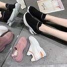 內增高鞋彈力襪子靴女2020夏季厚底超火透氣新款飛織網紅內增高運動鞋潮